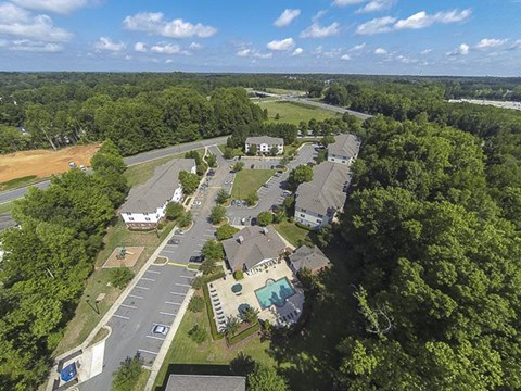 Aerial View | Reserve at River Walk Apartment Homes Columbia, SC