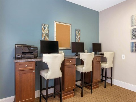 Business Center | The Grayson Apartment Homes Charlotte, NC