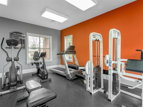 Fitness Center | The Grayson Apartment Homes Charlotte, NC