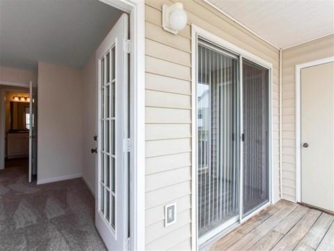 Private Balcony | The Grayson Apartment Homes Charlotte, NC