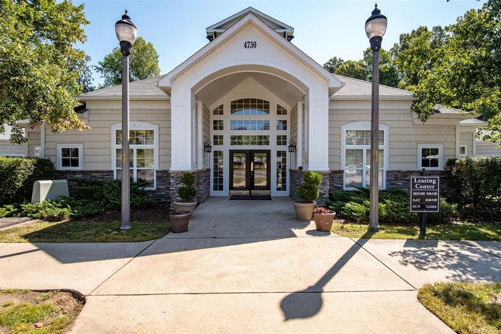 Overlooke at Simms Creek Apartments | Leasing Office Exterior