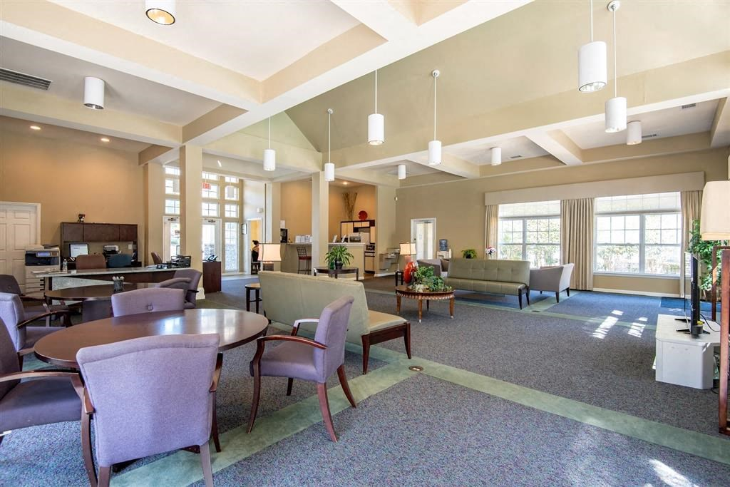 Overlooke at Simms Creek Apartments | Clubhouse Seating Area