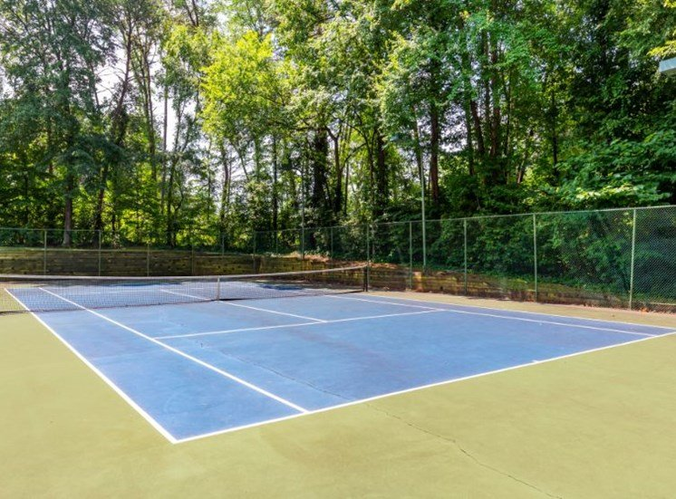 Full Sized Tennis Court