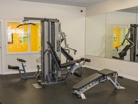 Fitness Center | Landmark at Lyncrest Reserve Apartment Homes Nashville, TN