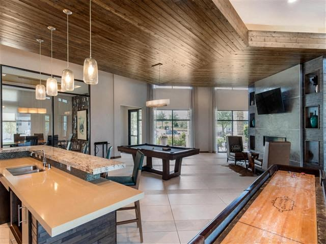 Billiards and Game Room