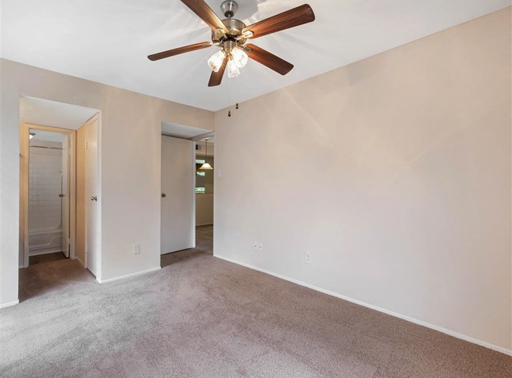 Cimarron Parkway Bedroom with Ceiling Fan