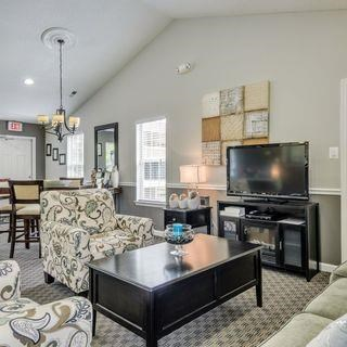 Clubhouse With Ample Sitting And Television at Soldiers Ridge Apartments, Virginia