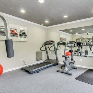 Fitness Center With Modern Equipment at Soldiers Ridge Apartments, Manassas