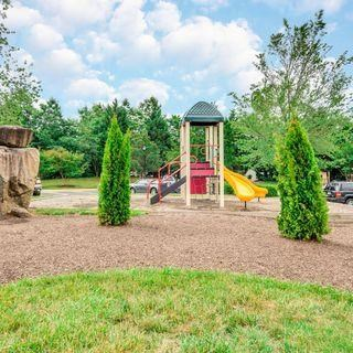 Playground With Trees at Soldiers Ridge Apartments, Manassas, Virginia