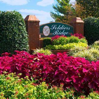 Community Sign at Soldiers Ridge Apartments, Manassas, VA, 20109