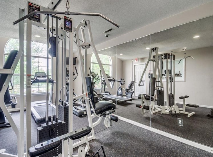 Fully Equipped Fitness Center at Stonegate Apartments, Stafford, VA, 22554