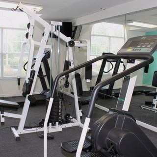 Fitness Center With Equipment at Ocean Gate Apartments, Virginia Beach
