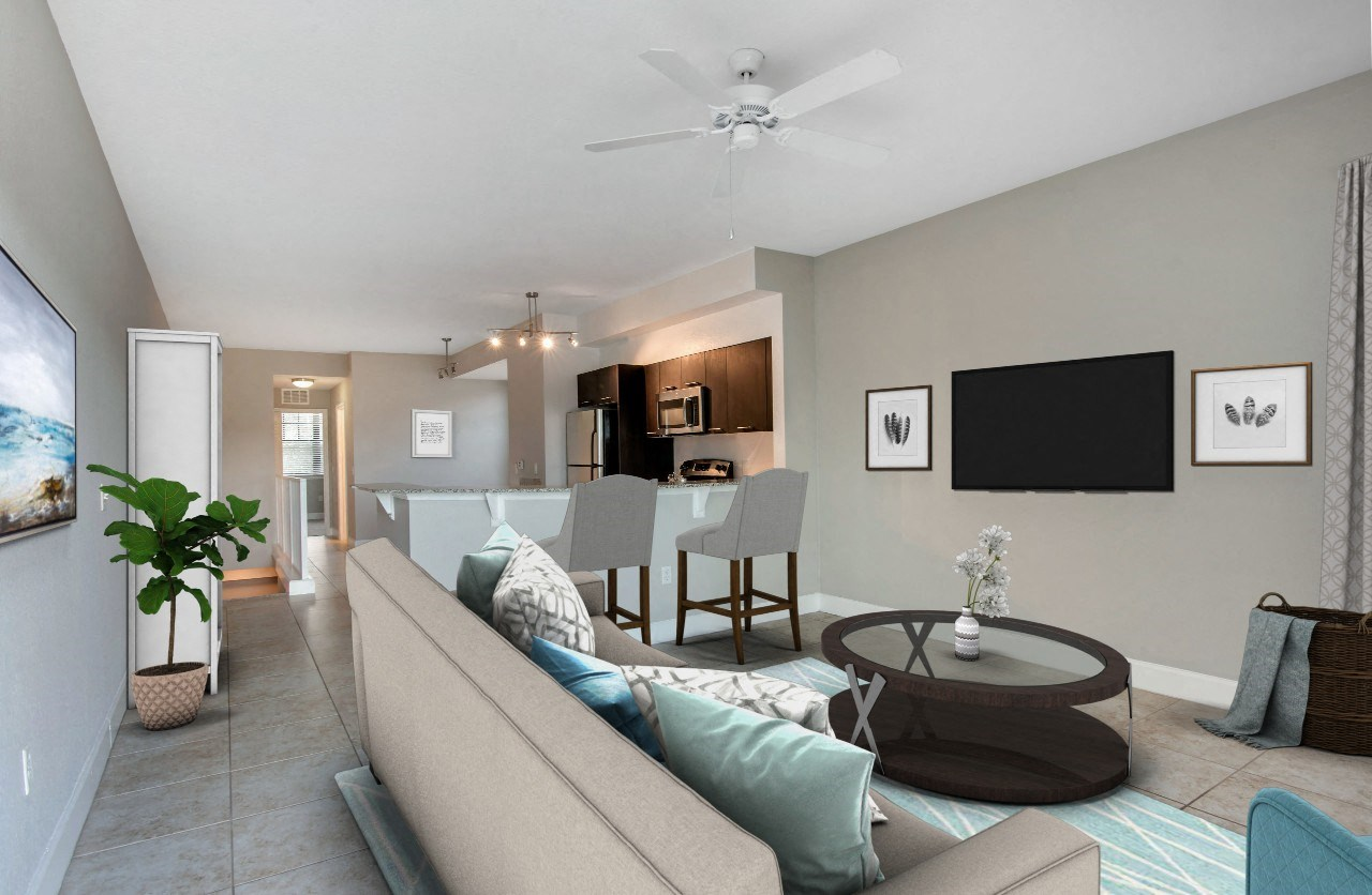 Oasis Delray Beach Apartments | Living Room