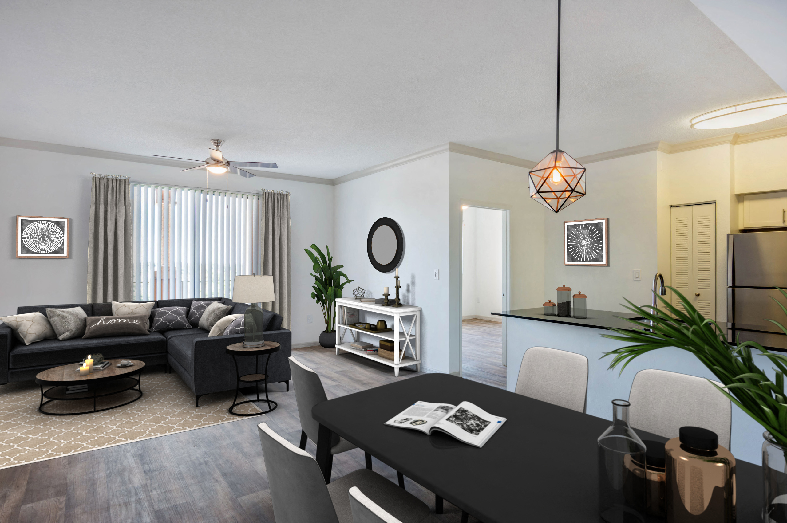Gables Grand Plaza Apartments | Dining Room