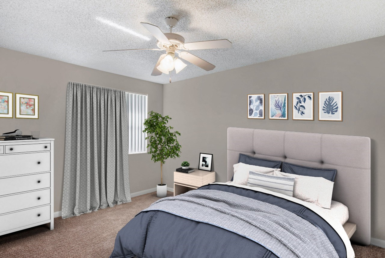 Hammocks Place Apartments | Spacious Bedroom