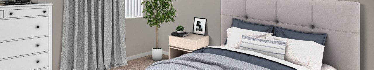 Hammocks Place Apartments | Spacious Bedroom