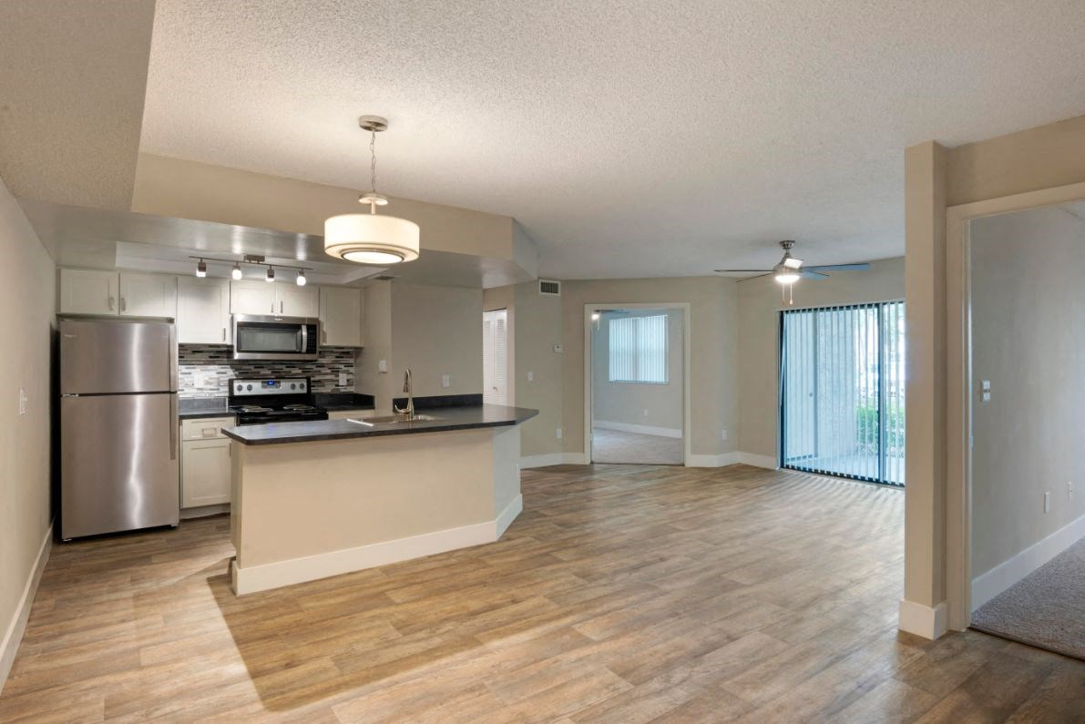 Hammocks Place Apartments | Fully Equipped Kitchen with Stainless Steel Appliances