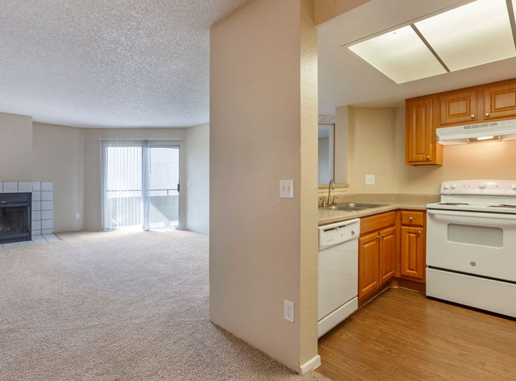 Spacious Floor Plan with Private Balcony