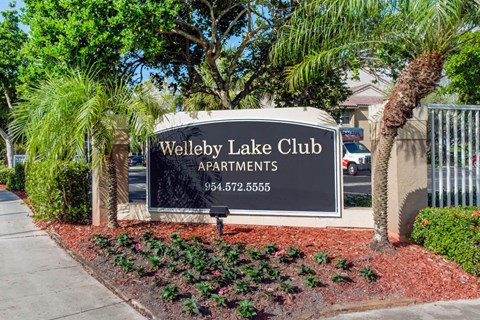 Welleby Lake Club Apartments | Entrance