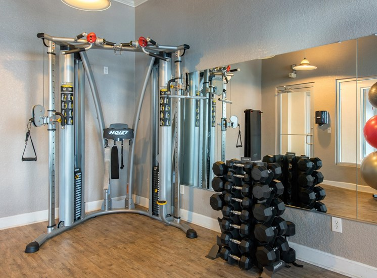 Fitness Center Strength and Conditioning Equipment