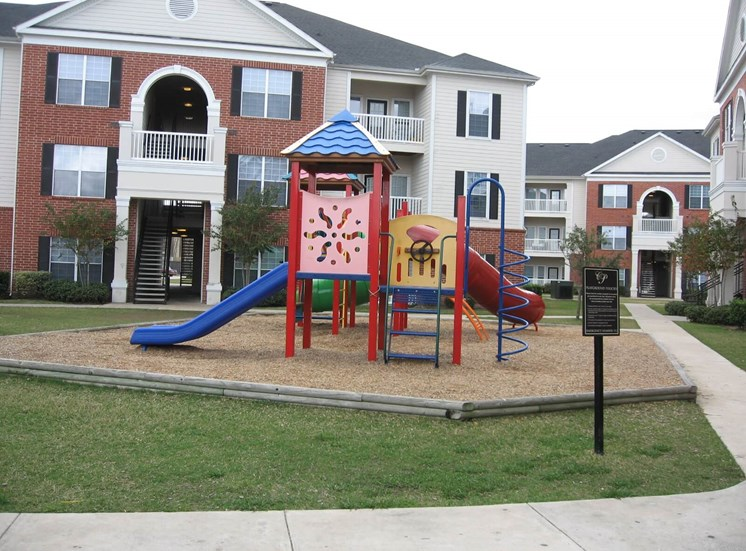 Multicolored Outdoor Playground