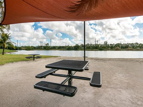 The Landings at Pembroke Lakes Apartments | Picnic Area