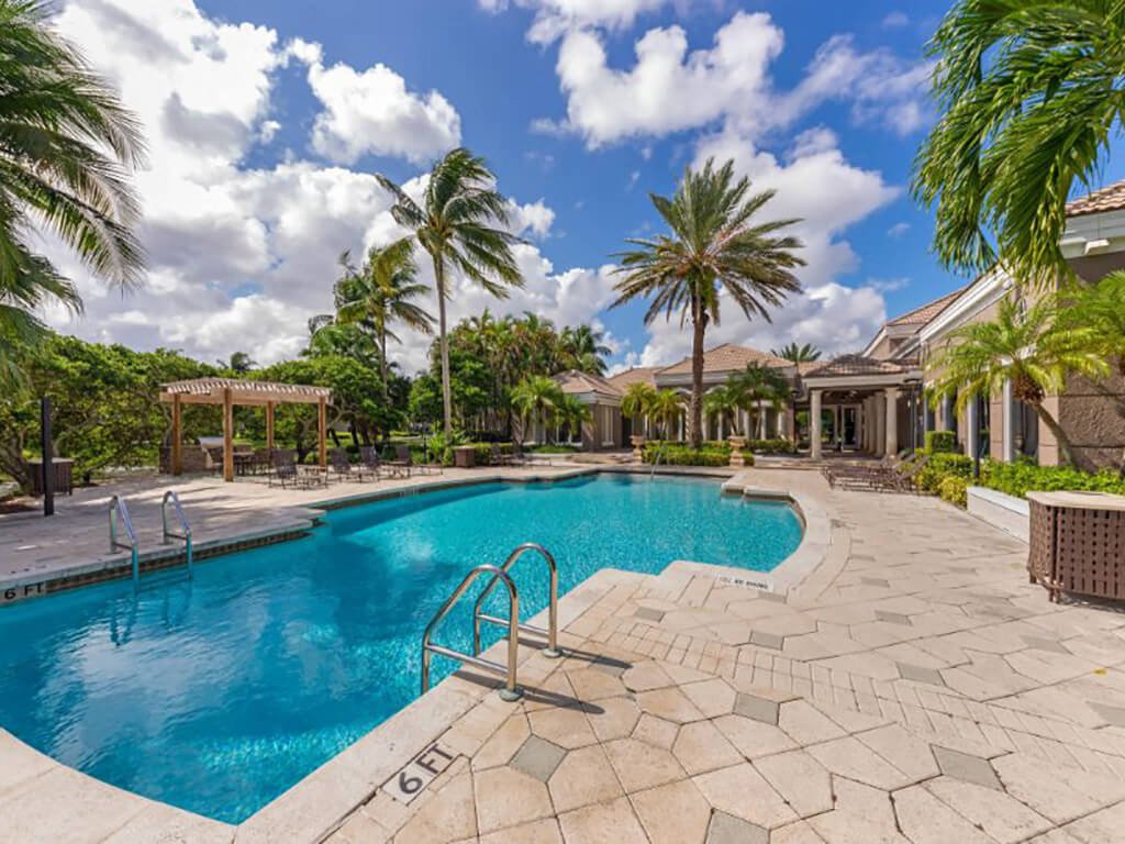 The Preserve at Deer Creek Apartments | Pool with Tanning Deck