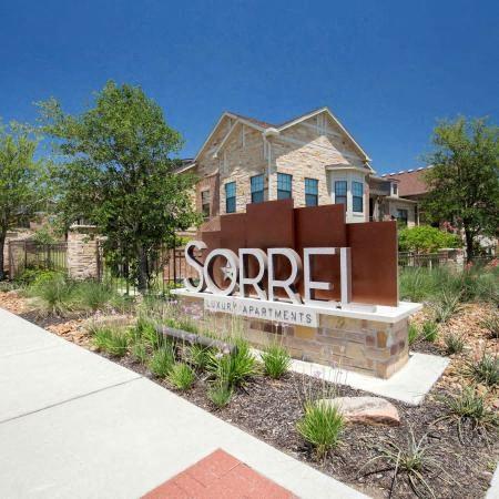 Front Entrance | Sorrel Fairview Apartments | Fairview, TX