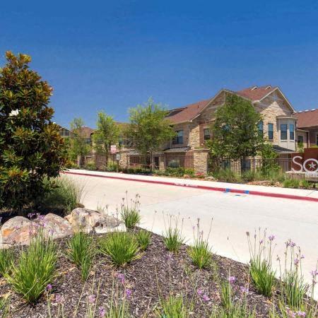 Entrance | Sorrel Fairview Apartments | Fairview, TX