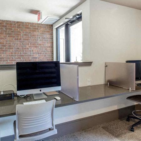 Business Center | Sorrel Fairview Apartments | Fairview, TX