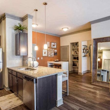 Kitchen and Dining Room  | Sorrel Fairview Apartments | Fairview, TX