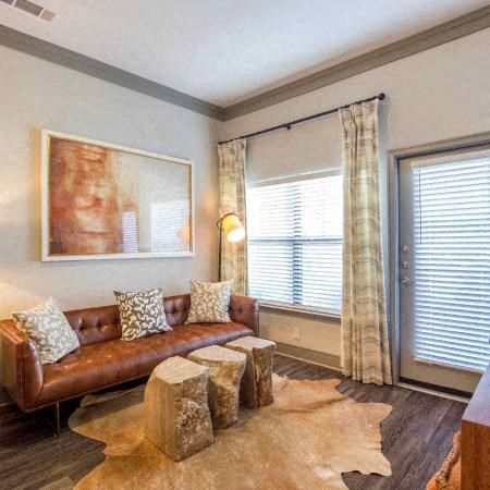 Living Room | Sorrel Fairview Apartments | Fairview, TX