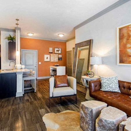 Living Room | Sorrel Fairview Apartments | Fairview, TX
