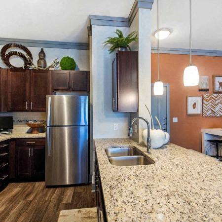 Granite Countertops | Sorrel Fairview Apartments | Fairview, TX