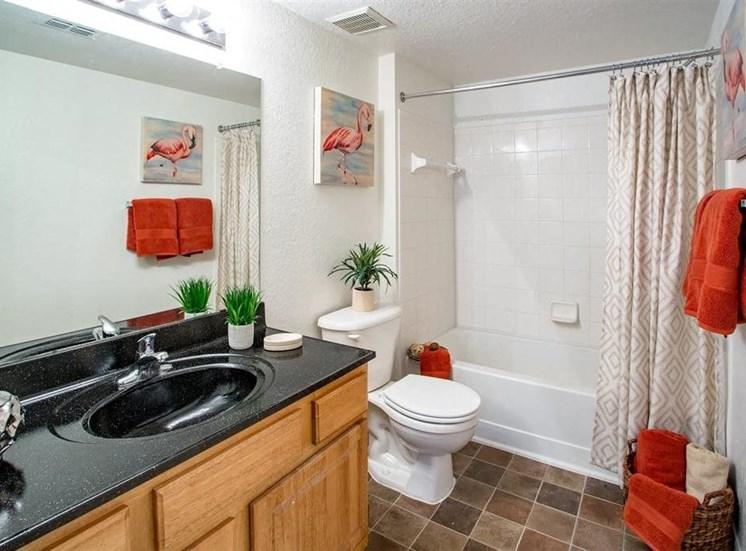 Bathroom with Tiled Flooring