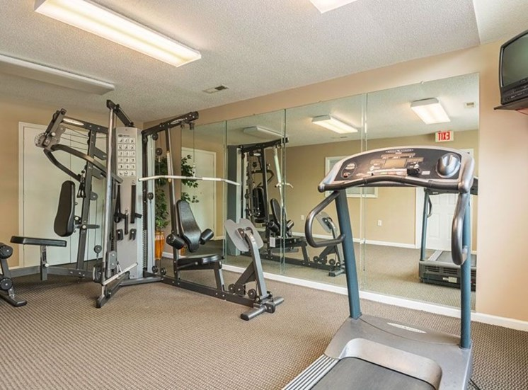 Fitness Center With Updated Equipment at Autumn Wind Apartments, Winchester, Virginia