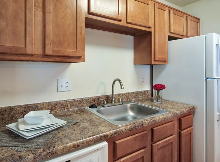 Modular Kitchens at Bridgeport Apartments, Hampton, VA, 23663
