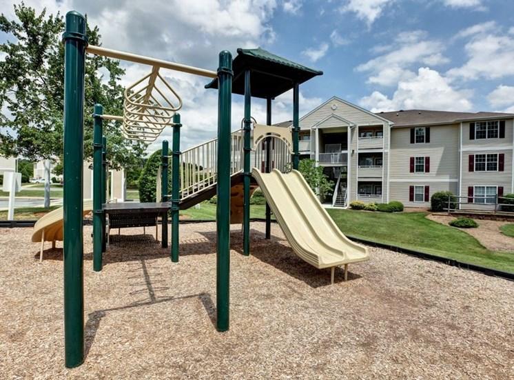 Playground For Children at Foxridge Apartments, Durham, North Carolina