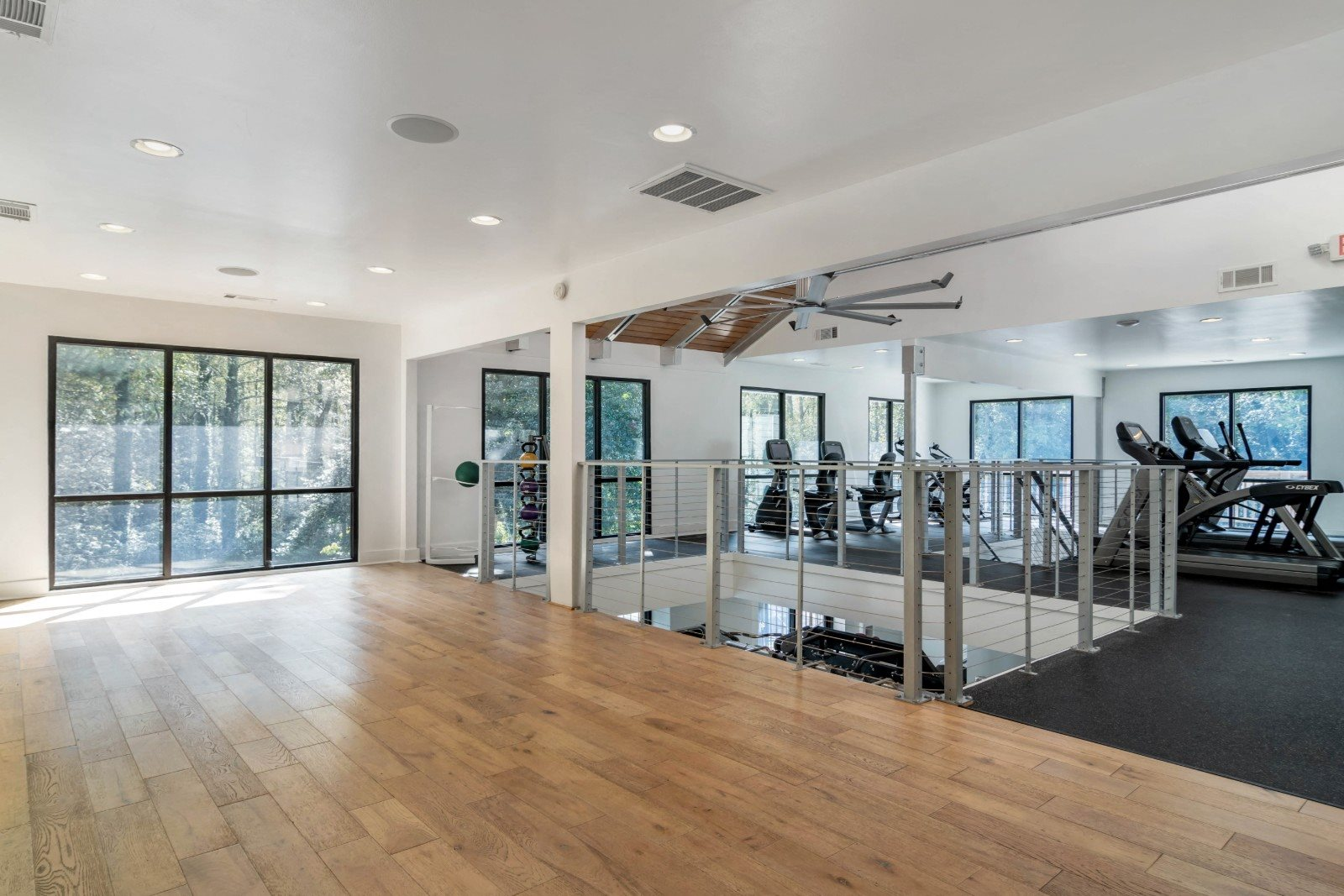 Fitness Center with Yoga Studio
