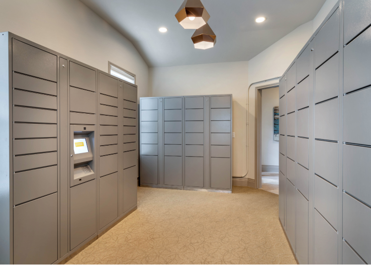 Indoor Package Locker System
