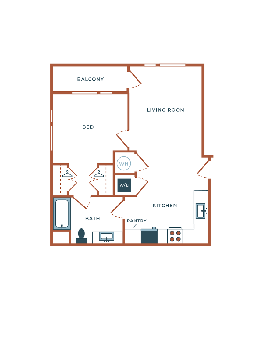 Legacy at Fitz A00B One Bedroom