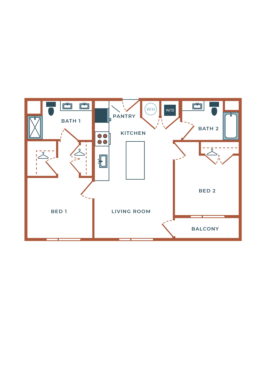 Legacy at Fitz B03B Two Bedroom