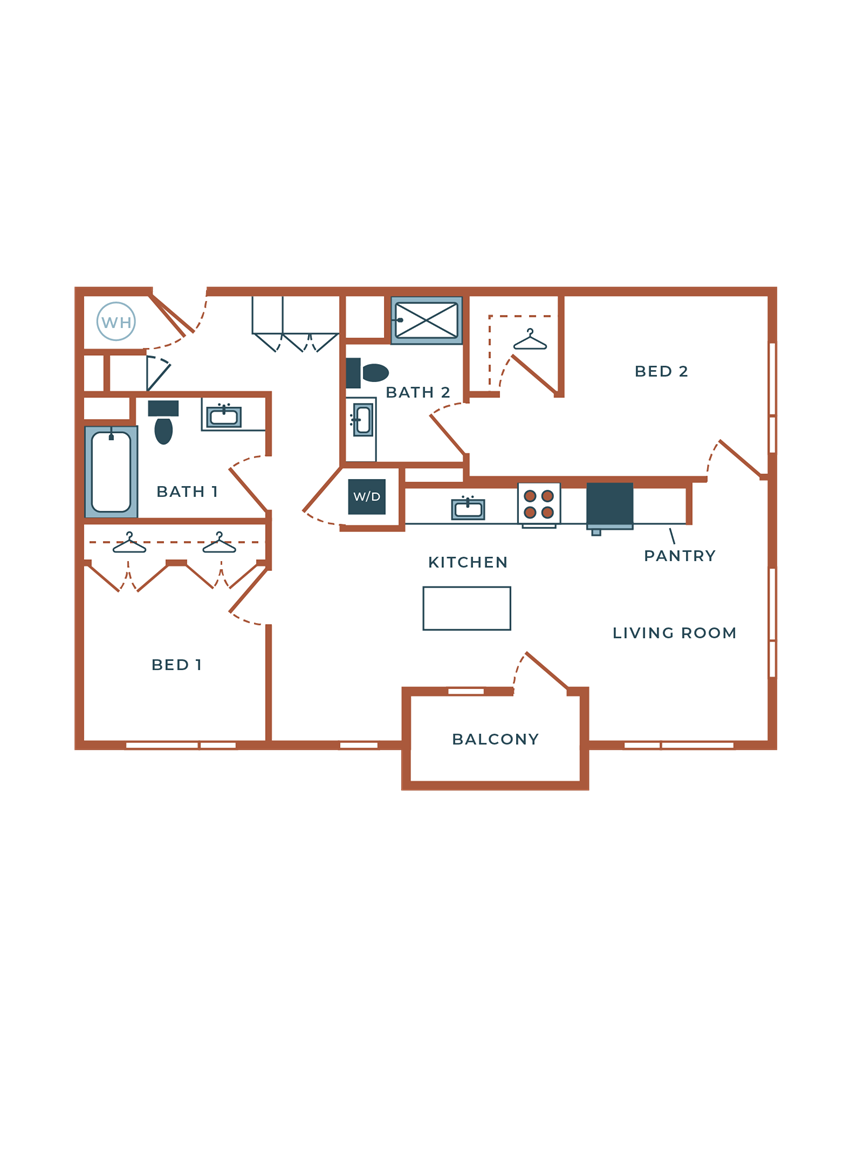Legacy at Fitz B04B Two Bedroom