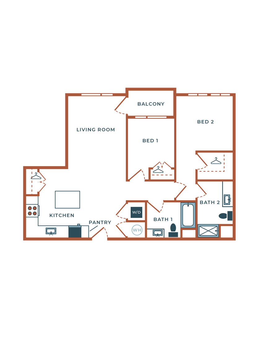Legacy at Fitz B05B Two Bedroom