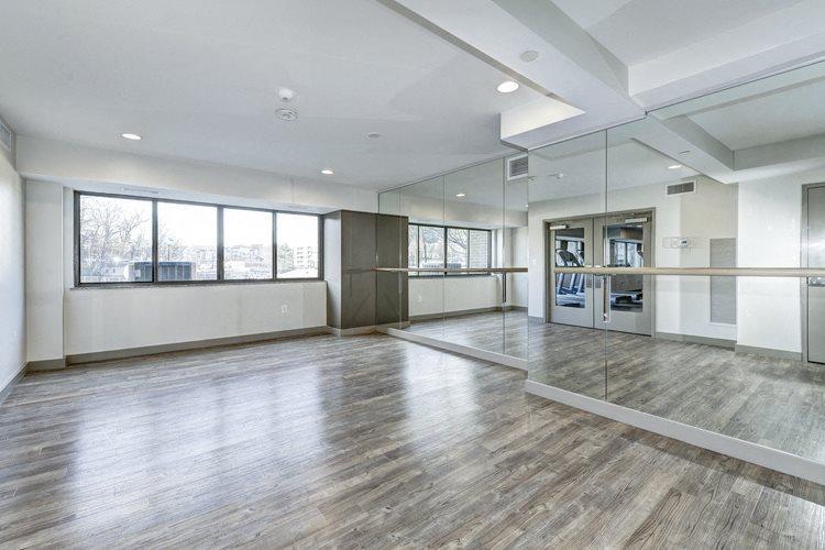 Yoga Studio at The Mark Apartments, Alexandria, VA