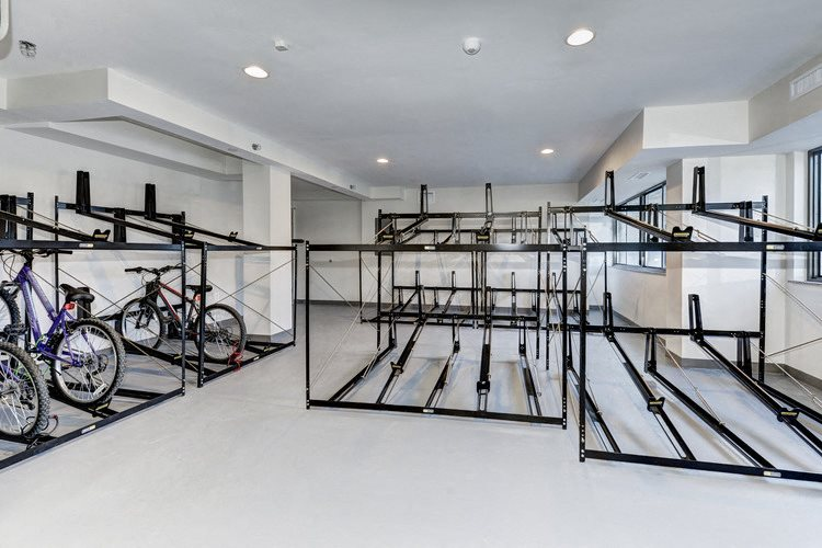 Bike Storage & Repair Room at The Mark Apartments, Alexandria, 22304