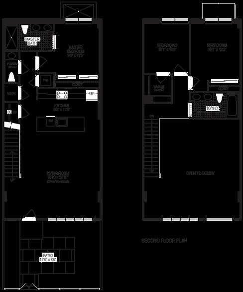 Mercury 3 Bedroom Floorplan