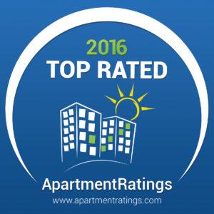 2016 ApartmentRatings Top Rated Award