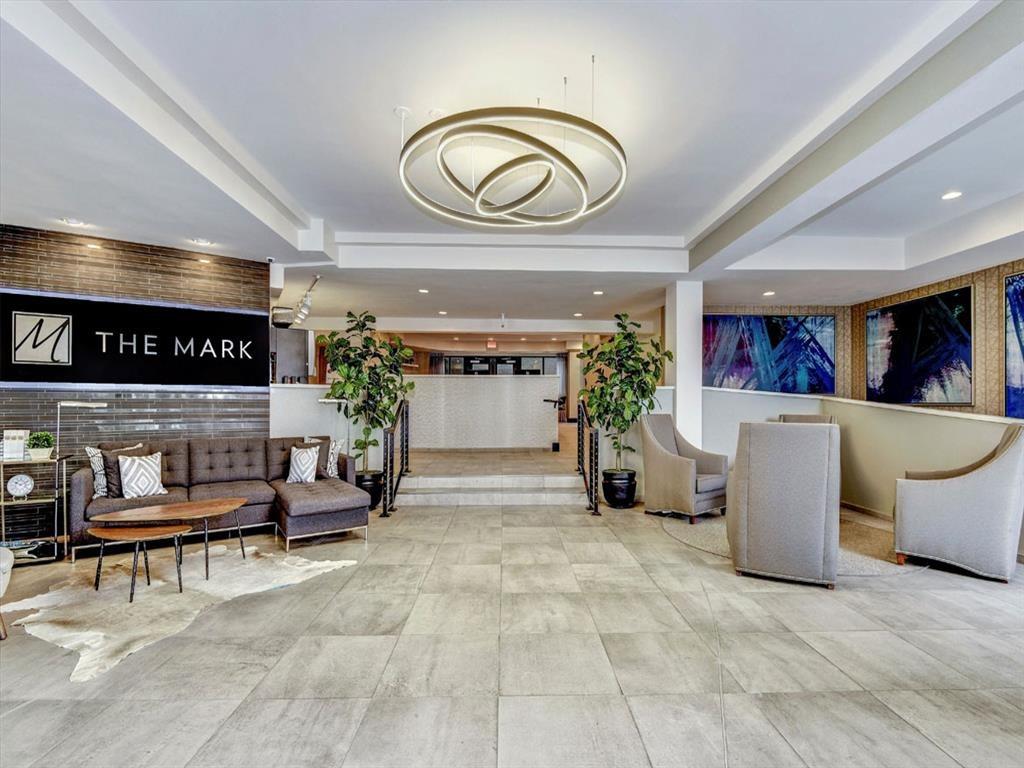 Spacious Lobby Upon Entry at The Mark Apartments, Alexandria