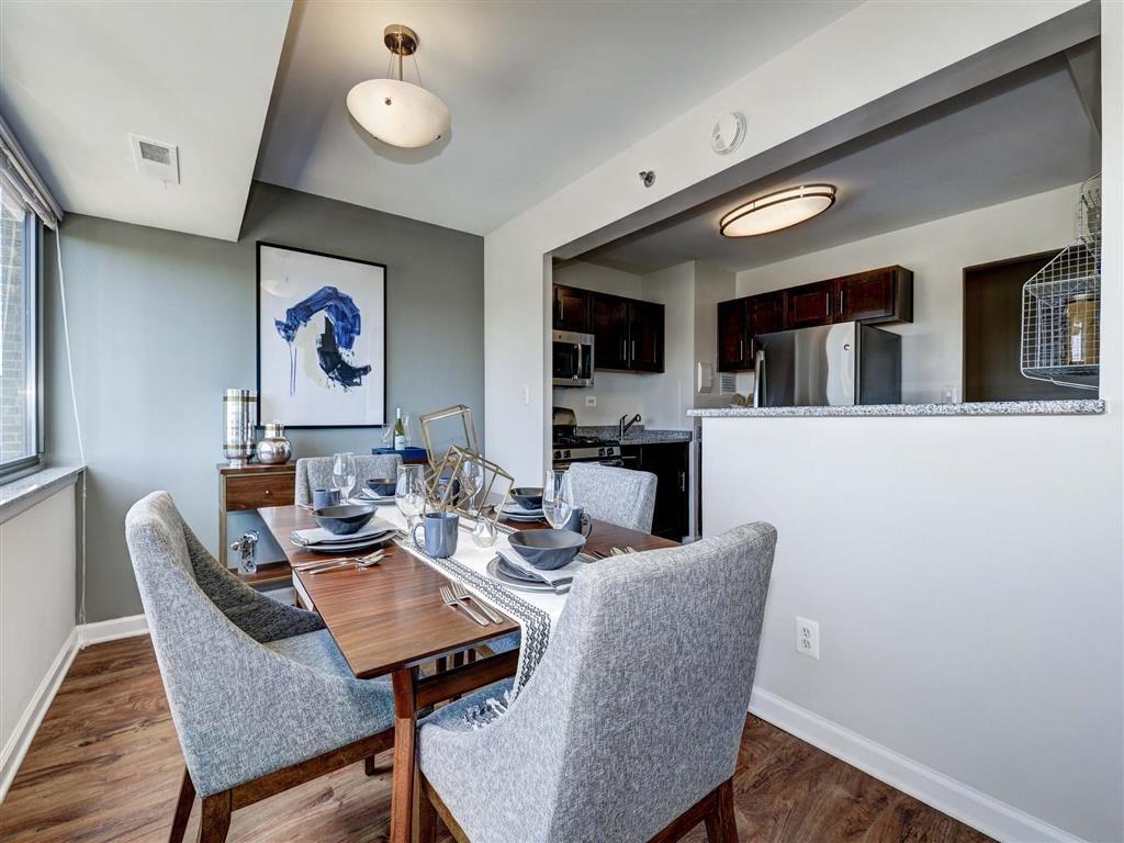 Separate Dining Room at The Mark Apartments, Alexandria, VA